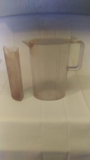 Strainer and Pitcher